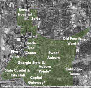 Eastside TAD map