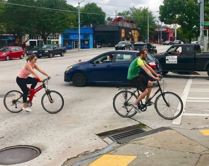 moreland, cyclists