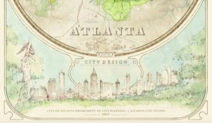 Atlanta City Design watercolor