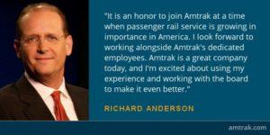 Richard Anderson Amtrak