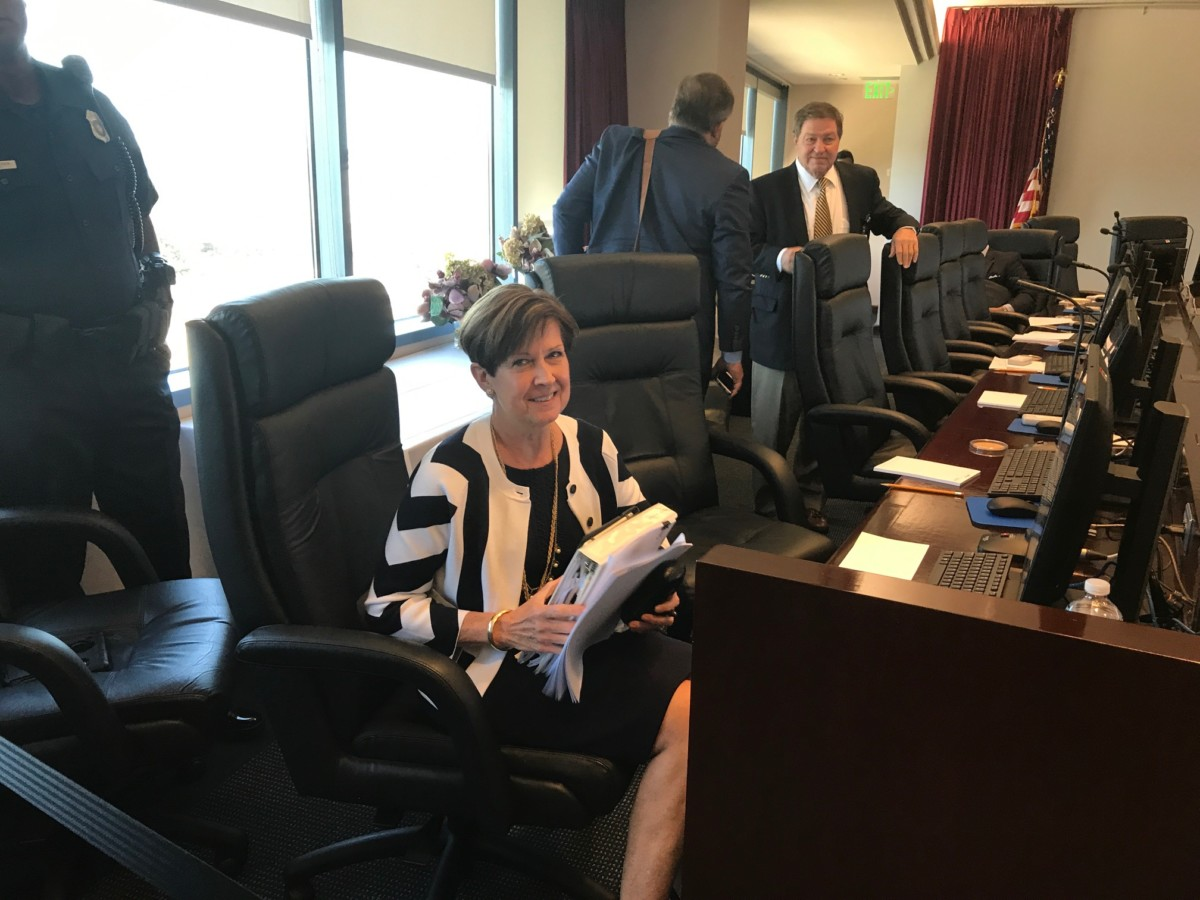 MARTA Chief Counsel Elizabeth O'Neill became the agency's interim leader with a board vote on Thursday. Credit: Maria Saporta
