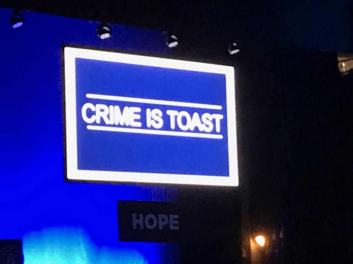 Crime is Toast