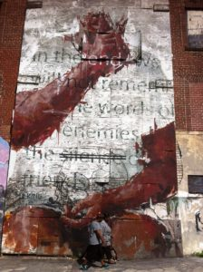 auburn, mural, hope and grief