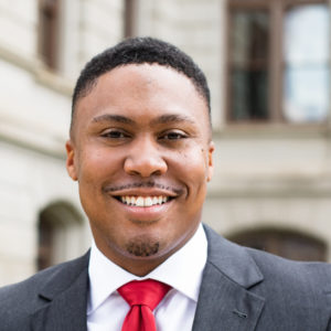 Joshua McNair, candidate for Fulton County Commission District 4. Credit: Courtesy Joshua McNair