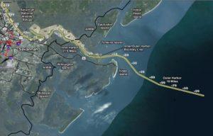 savannah harbor dredging stations