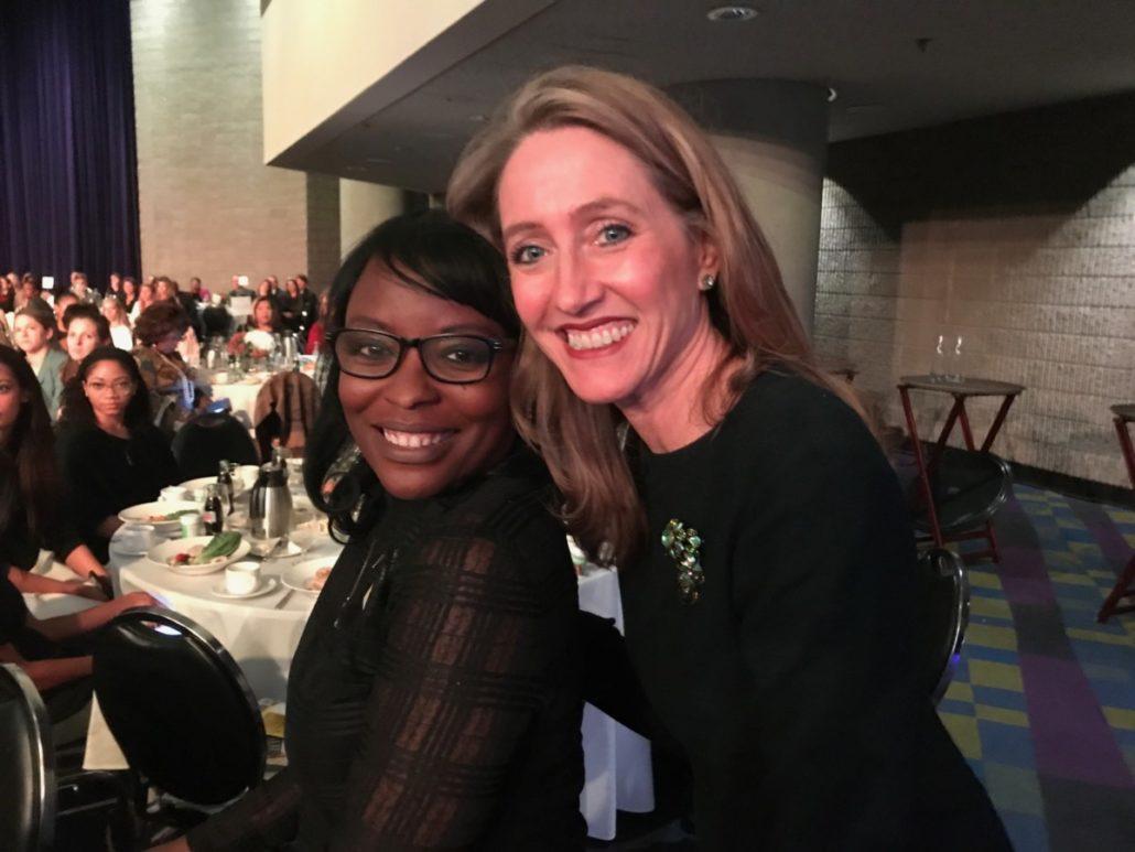 Kari Love and DeShonda Hughes