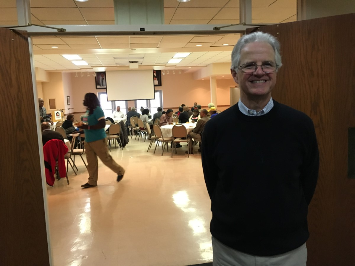 Carl Hartrampf, executive director of the Metro Atlanta Task Force for the Homeless, said his organization is going to focus on services for people experiencing homelessness, and is looking for a new location. Credit: Maggie Lee