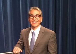 Alex Wan after Thursday's debate. Credit: Maggie Lee