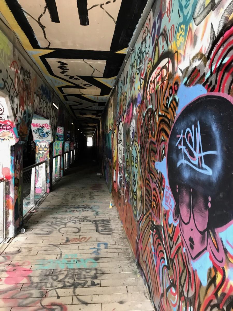 Krog Street tunnel by Kelly Jordan