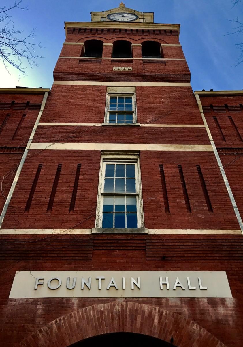 Fountain Hall by Kelly Jordan