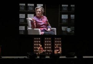Hillary Clinton and Elizabeth Kiss