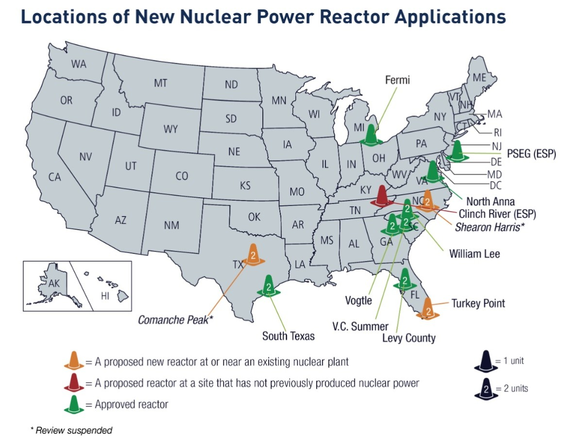 nuclear power reactor applications