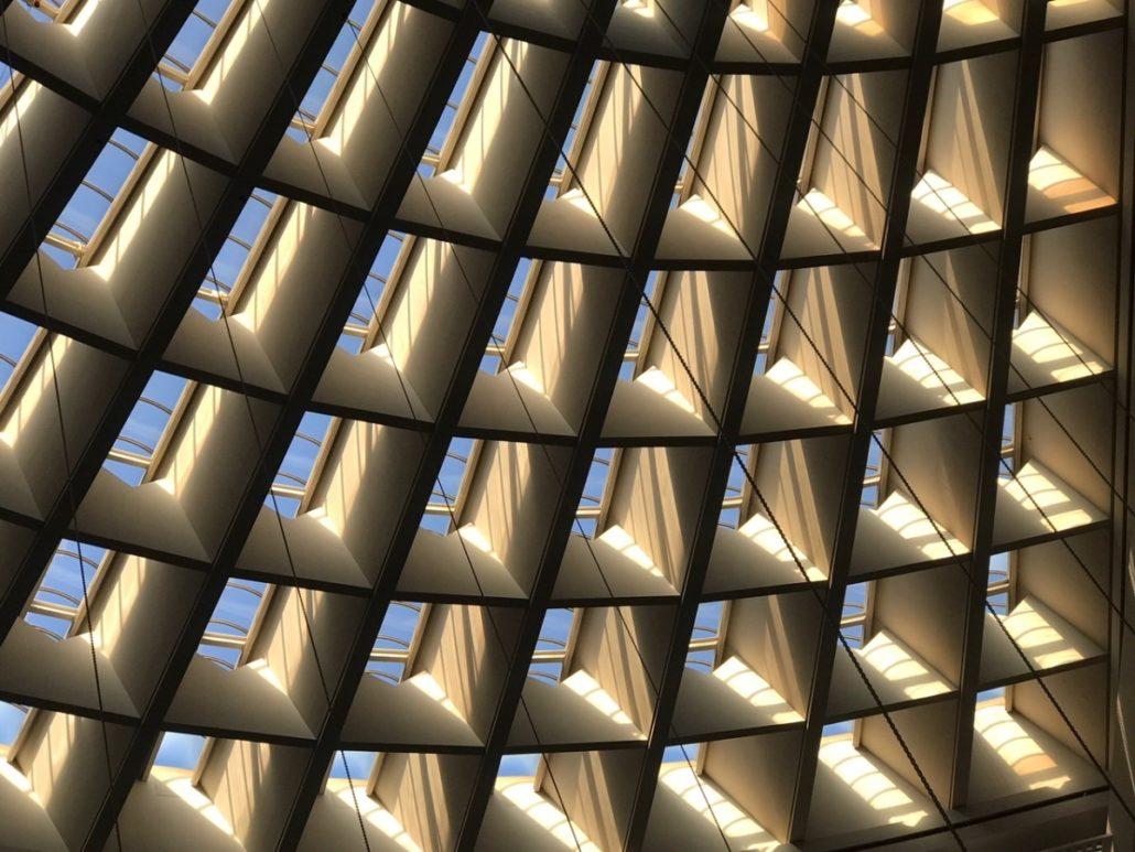 AmericasMart atrium ceiling