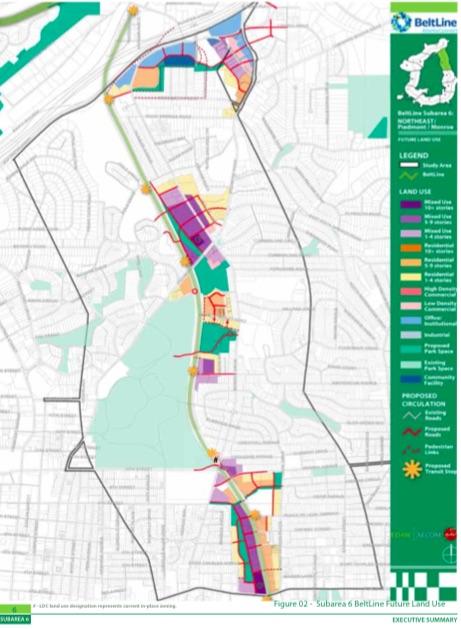land-use map