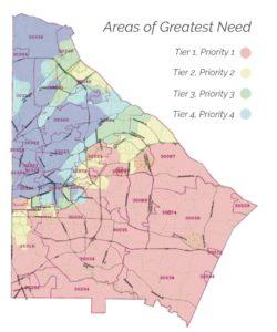 DeKalb, NSP, areas of greatest need