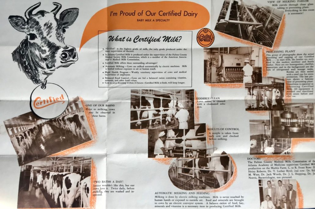 certified milk