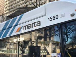MARTA Downtown. Credit: Kelly Jordan