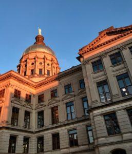 Georgia's state Capitol building. Credit: Kelly Jordan