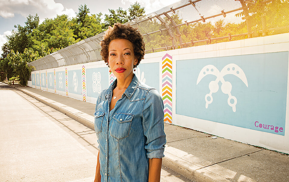 By Maria Saporta The High Museum of Art has selected Georgia native Amy Sherald as the 2018 recipient of the prestigious David C. Driskell Prize in recognition of her contributions to the field of African-American art, the museum announced on Thursday. Among her notable achievements, Sherald received the commission to paint former first lady Michelle Obama's official portrait for the Smithsonian National Portrait Gallery, which will be unveiled on Feb. 12. The Driskell Prize, founded in 2005, was named in honor of renowned African-American artist and art scholar David C. Driskell to recognize artists and scholars early or in the middle of their careers. Sherald will be honored as the 14th Driskell Prize recipient at the High's Driskell Prize Dinner on April 27. The Prize includes a $25,000 cash award for the artist. Proceeds from the dinner will support the David C. Driskell African American Art Acquisition Funds Since the inception of those funds, the High has been able to acquire 48 works by African-American artists for its collection. Sherald was born in Columbus, Ga. in 1973, and she trained as a painter in Atlanta – earning a Bachelor of Arts degree from Clark Atlanta University. She then was a Spelman College International Artist-in-Residence in Portobelo, Panama (1997). Sherald went on to receive her master's degree in painting from the Maryland Institute College of Art. Upon graduating in 2004, she was diagnosed with congestive heart failure, and after completing a residency in Norway, Sherald moved home to Georgia to care for her family. She returned to Baltimore in 2008 to refocus on her practice, and her work began to gain national attention in 2011 when the National Museum of Women in the Arts acquired one of her paintings. Sherald received a life-saving heart transplant in December 2012 and, after her recuperation, resumed working in her studio in Baltimore. In 2016, Sherald was the first woman to win the Smithsonian National Portrait Gallery's Outwin B