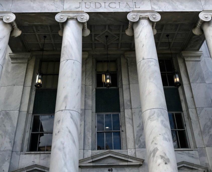 Georgia's Judicial Building. Credit: Kelly Jordan