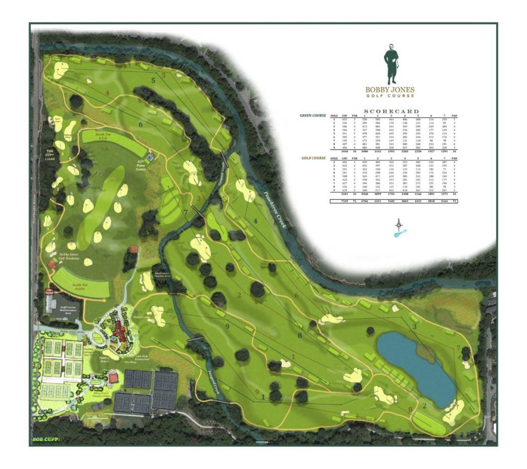 Bobby Jones Golf Course master plan