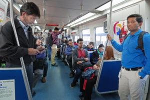 MARTA train interior