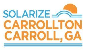 Solarize Carrollton, logo