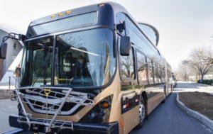 UGA electric bus