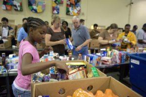atlanta community food bank, volunteers