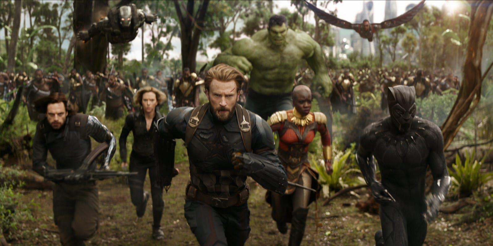 The Avengers: Infinity War