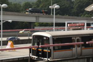 MARTA bus and train