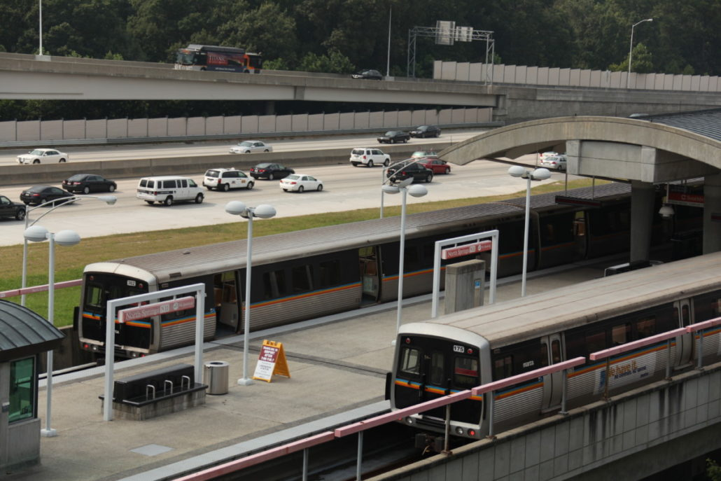 buses and trains