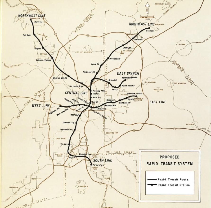 1960s trainsit plan