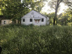 Carey Park, church, grassy