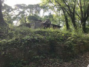 Carey Park, house, collapsed