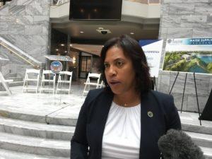 Atlanta Department of Watershed Management Commissioner Kishia Powell. Credit: Maggie Lee
