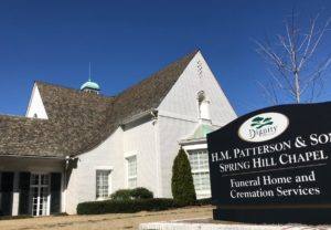 H.M. Patterson & Son Spring Hill Chapel funeral home. Credit: Kelly Jordan