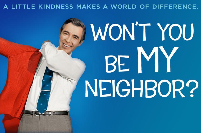"""A movie poster of """"Won't You Be My Neighbor'"""