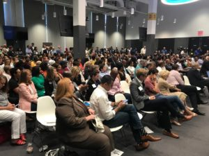 Standing room only at the Westside Future Fund's Transform Westside Summit on Friday morning for an address by Mayor Keisha Lance Bottoms. Credit: Maria Saporta