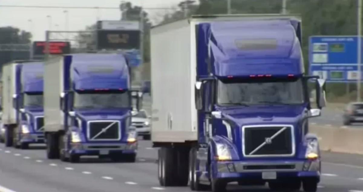platooning trucks