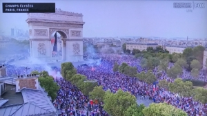 World Cup celebration