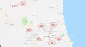 Granada, locator map