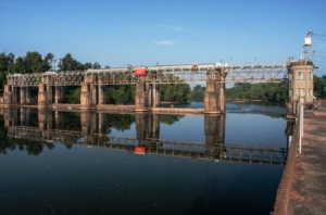 augusta lock, savannah river