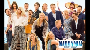 """""""Mamma Mia: Here We Go Again"""" poster"""