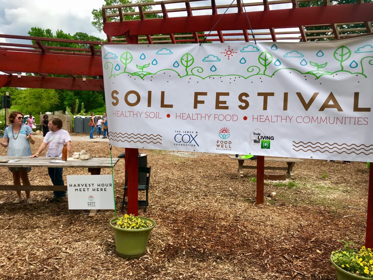 Food Well Soil Fest at Truly Living Well by Kelly Jordan