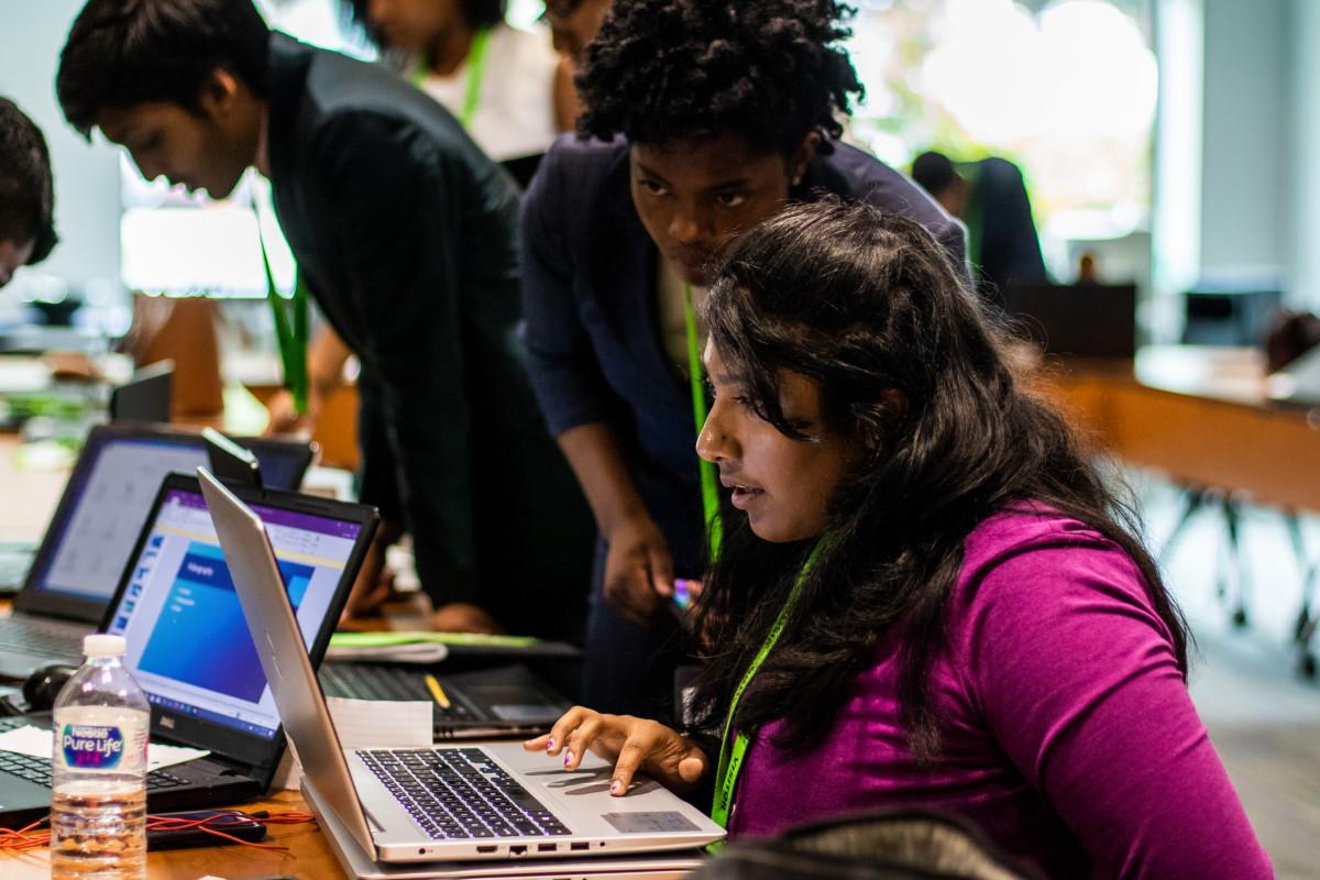 Technology, Jasmine and Bavisha