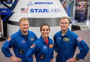 astronaut, boe and crew