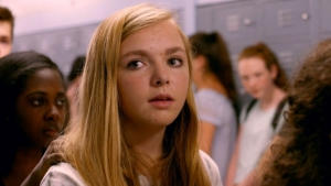 """Scene from """"Eighth Grade"""" featuring Elsie Fisher"""