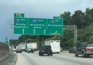 I-285, truck traffic