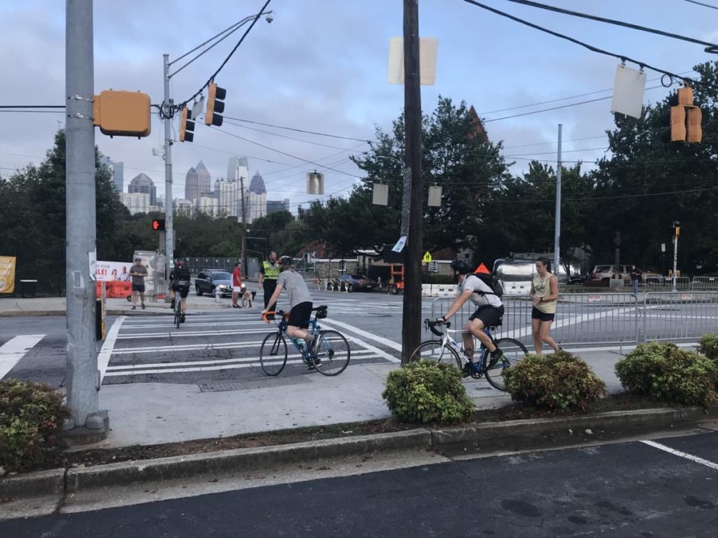 Music Midtown barricades